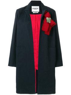 пальто с бантом с украшением из бусин Essentiel Antwerp