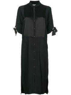 платье-рубашка строгого кроя Victoria Victoria Beckham
