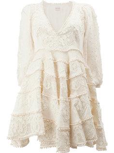 ажурное кружевное платье Zimmermann