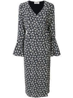 платье-миди с V-образным вырезом Essentiel Antwerp