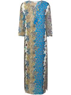 пляжное платье с комбинированным принтом Tory Burch