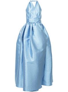 расклешенное платье с открытой спиной Alexis Mabille