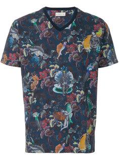 рубашка с принтом Wildlife Etro