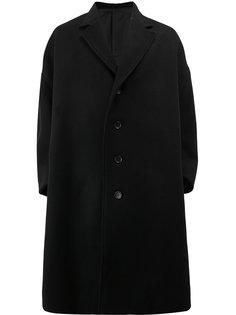 удлиненное пальто свободного кроя Christopher Nemeth