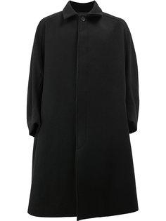 пальто свободного кроя с потайной застежкой Christopher Nemeth
