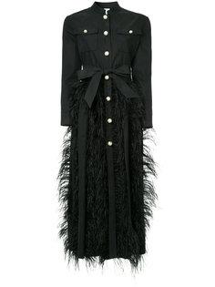 панельное платье-рубашка Huishan Zhang