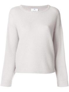 свитер с ребристой фактурой Allude