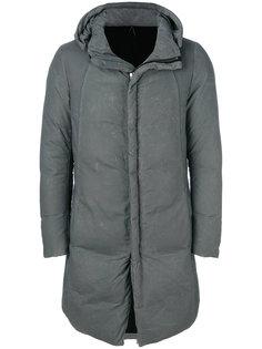 дутое пальто средней длины Masnada