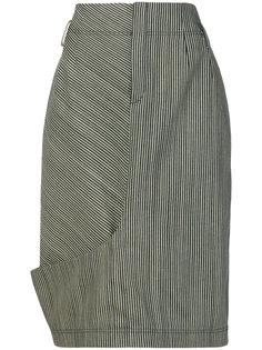 полосатая юбка из денима Nehera