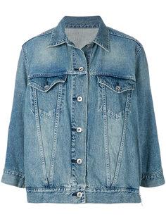 джинсовая куртка мешковатого кроя Sacai
