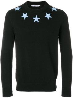 толстовка со звездами Givenchy