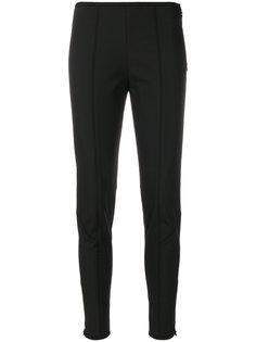 брюки скинни с панельным дизайном Prada