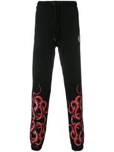 спортивные брюки со змеей Marcelo Burlon County Of Milan