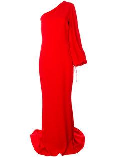 вечернее платье на одно плечо Stella McCartney