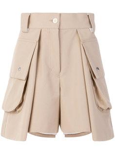 шорты с карманами по бокам Sacai