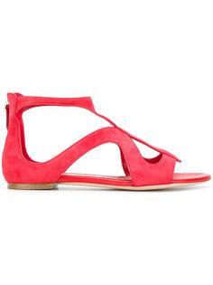 сандалии с ремешками Alexander McQueen