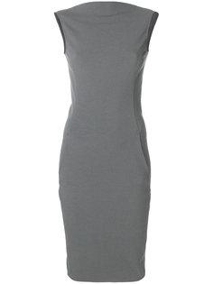 платье-футляр с V-образным вырезом сзади Rick Owens