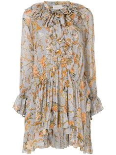 блузка с растительным принтом Zimmermann