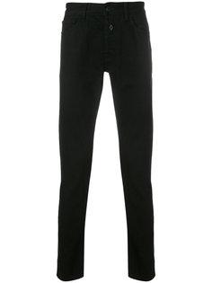 джинсы прямого кроя с заплатками  Marcelo Burlon County Of Milan