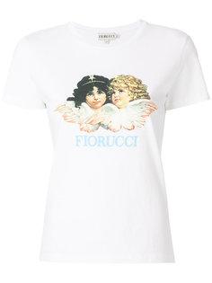 футболка с принтом логотипа Fiorucci