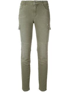джинсы с боковыми карманами  Closed