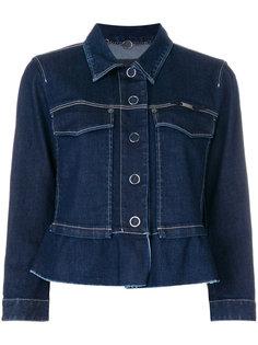 короткая джинсовая куртка Marc Cain