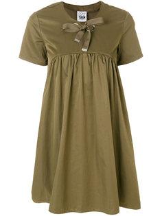 платье-шифт с бантом Twin-Set