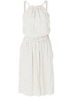 платье-миди в горошек Twin-Set