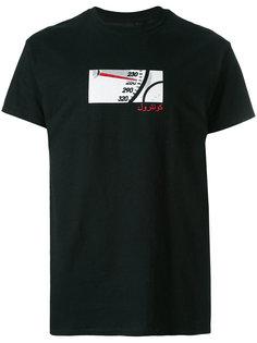 футболка со спидометром Blood Brother