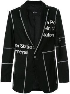 пиджак с принтом Penton Blood Brother