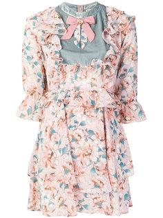 платье с цветочным рисунком For Love And Lemons