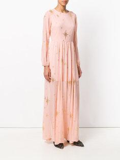 платье из ткани филькупе со звездами For Love And Lemons