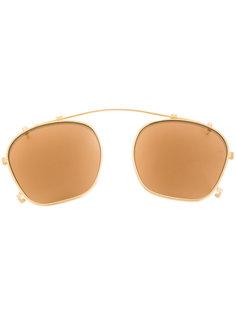 квадратные очки Zephirin на зажиме Jacques Marie Mage