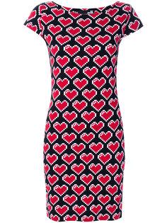 платье с сердцами Love Moschino