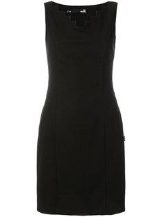 короткое приталенное платье Love Moschino
