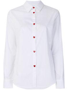рубашка на пуговицах в форме сердца Love Moschino