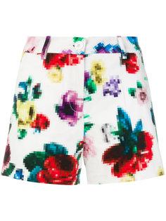 шорты с цветочным принтом Love Moschino