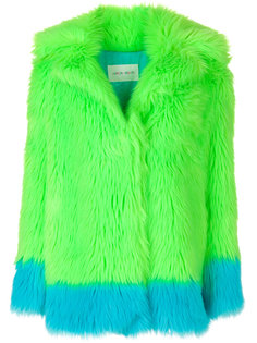 пальто из искусственного меха Alberta Ferretti