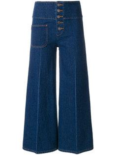 укороченные брюки  с завышенной талией Marc Jacobs