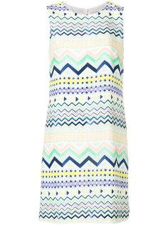 платье-шифт с геометрическим принтом M Missoni