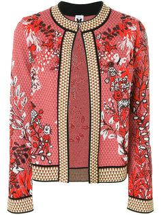 пиджак с цветочной вышивкой M Missoni