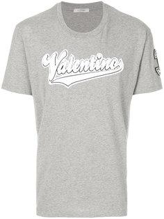 футболка с логотипом Valentino