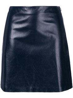 мини юбка А-образного кроя Theory