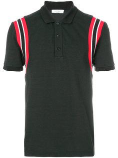 футболка-поло с логотипом на спине Valentino