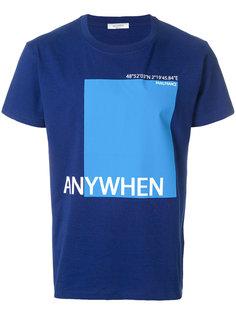 футболка с принтом Anywhen Valentino