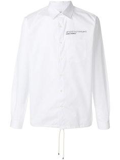 рубашка со шнуровкой Valentino