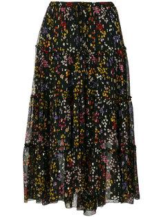 юбка миди с цветочным принтом  See By Chloé
