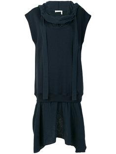 драпированное платье миди See By Chloé