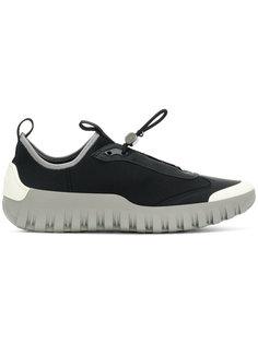 кроссовки без шнуровки Prada