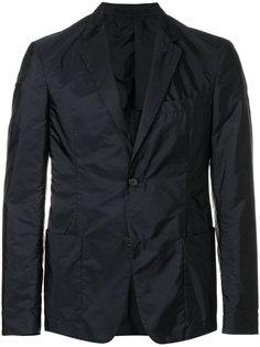 нейлоновый однобортный пиджак Prada